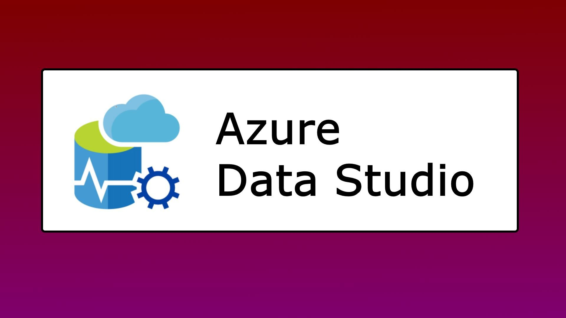 Moving from SQL Operations Studio to Azure Data Studio